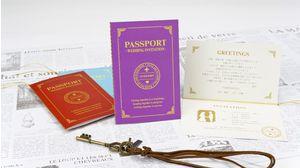 WEDDING PASSPORT(PURPLE)