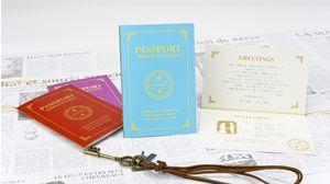 WEDDING PASSPORT(BLUE)