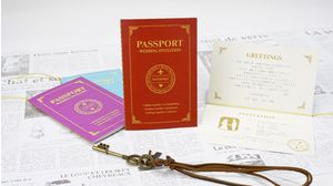 WEDDING PASSPORT(RED)