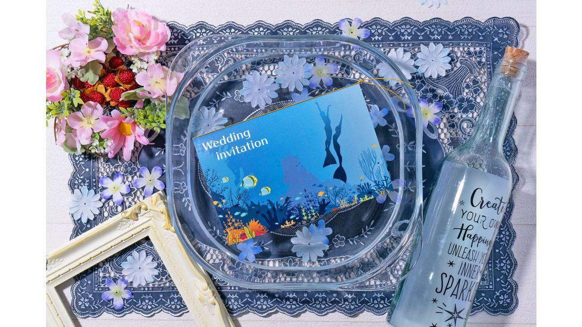blue mermaid-ダイビング-