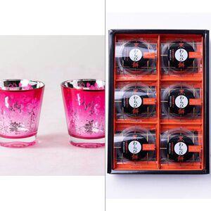 Sakuraグラス(ペア) 2点セット