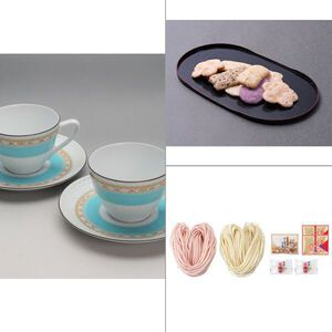 Noritake(ノリタケ) ハミングブルー 碗皿ペア 3点セット