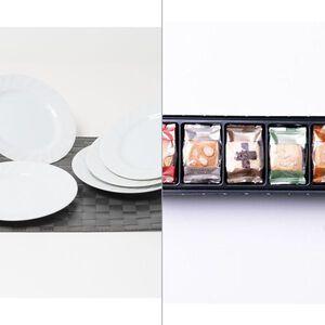 レストランモーニングミート皿5P 2点セット