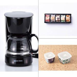 HOMESWAN コーヒーメーカー5カップ 3点セット