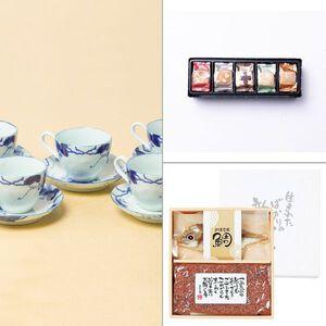 藍染ぶどうコーヒー5客 3点セット