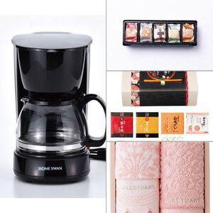 HOMESWAN コーヒーメーカー5カップ 4点セット