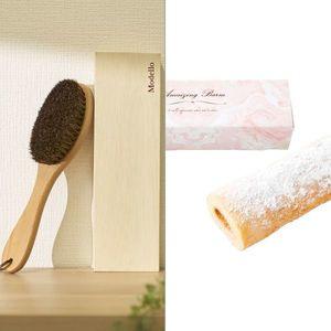 モデーロ洋服ブラシ(木箱入) 2点セット