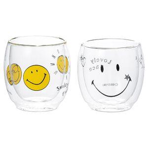 Smiley Face スマイル サーモグラスペア