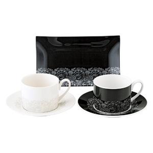 【ニナ・リッチ】トレー付ペアコーヒーセット