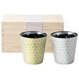 【凛】ロックカップペア(木箱入)