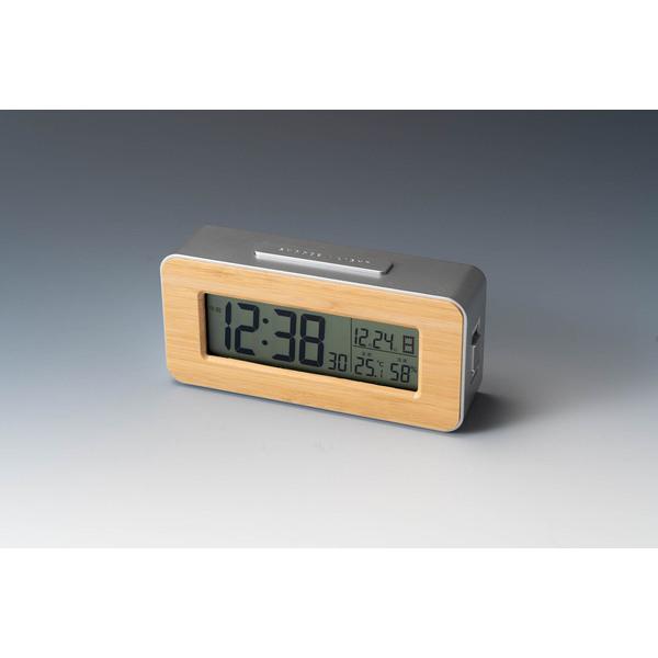 <アデッソ>竹の電波時計
