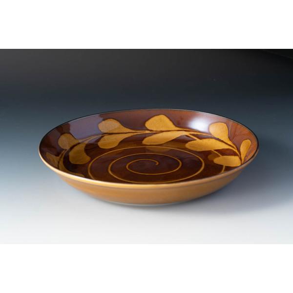 スリップショコラ スープカレー皿セット