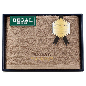 REGAL(リーガル) ブラウニー バスタオル1P