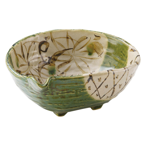 記念品 和食器類 織部(おりべ) 片口大鉢