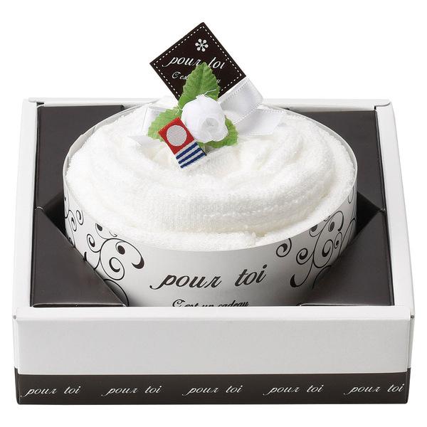 プルトワホワイトケーキタオル