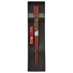 浮月 赤箸置付セット