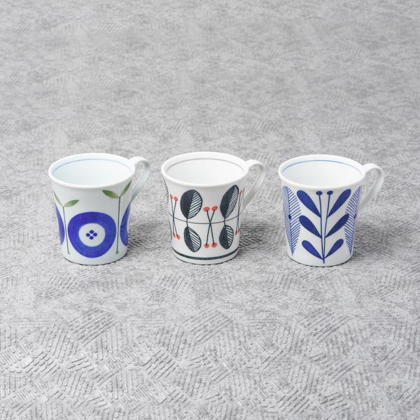 オーラフマグカップ3柄セット