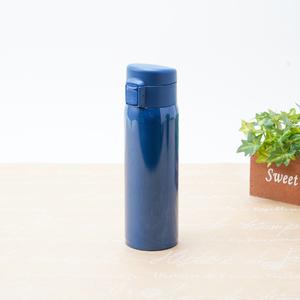 ソワレ ワンタッチステンレスボトル450ml(ブルー)