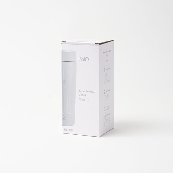 イミオ ポータブルタンブラー360ml(W)
