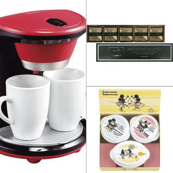 <メリート>2カップコーヒーメーカー クチュール 3点セット