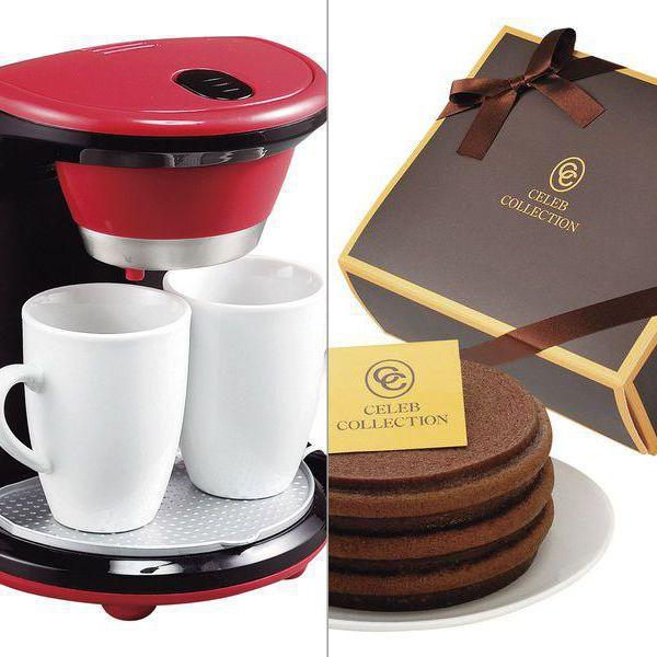 <メリート>2カップコーヒーメーカー クチュール 2点セット