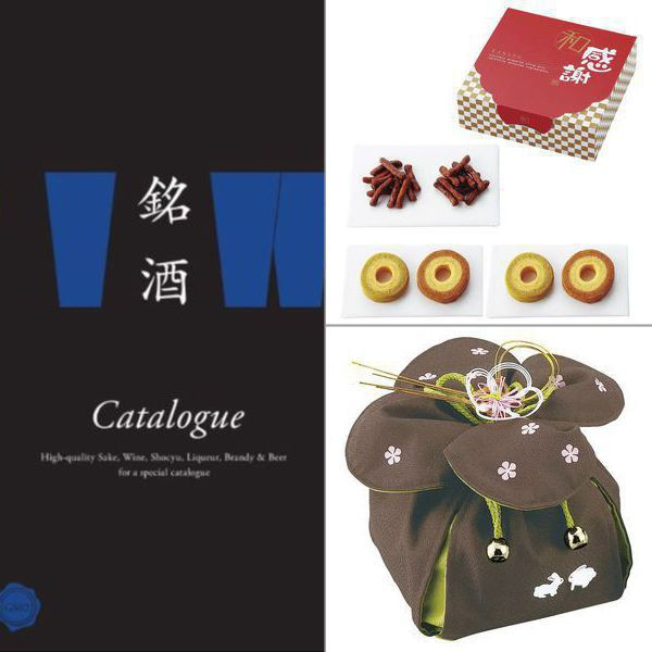 銘酒カタログギフト GS02 【6,000円コース】 3点セット