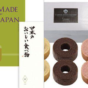 メイドインジャパン+日本のおいしい食べ物 MJ21+柳(やなぎコース) 【20,950円コース】 2点セット