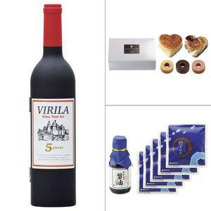 <ヴィリーラ>ワインボトル型ツールセット5P 3点セット