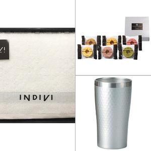 INDIVI(インディビ) カラット バスタオル 3点セット