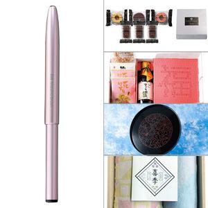 熊野筆 リップブラシ 5点セット