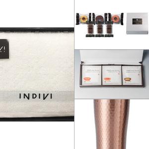 INDIVI(インディビ) カラット バスタオル 4点セット