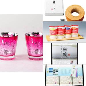 Sakuraグラス(ペア) 5点セット